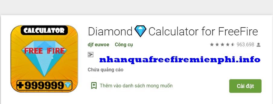 app nhận kim cương miễn phí